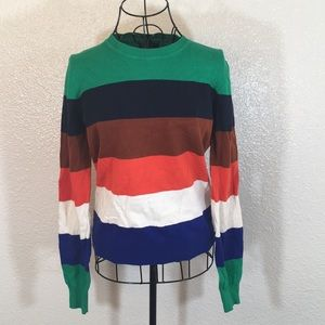 Forever 21 | 100% Cotton Striped Sweater